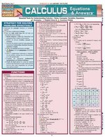 QuickStudy Reference Guide - Calculus Equations & Answers