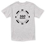 NCC 360 Brewing T-Shirts - Heathered Gray