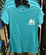 NCC Woodland Trail T-Shirt - Ladies - Bondi Blue