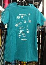 NCC Woodland Trail T-Shirt - Ladies - Teal
