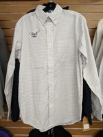 White Plaid Nash Button-up S